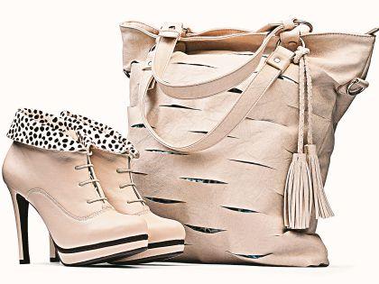 Ботфорты и стильная сумка