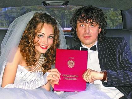 Андрей Алексин с женой