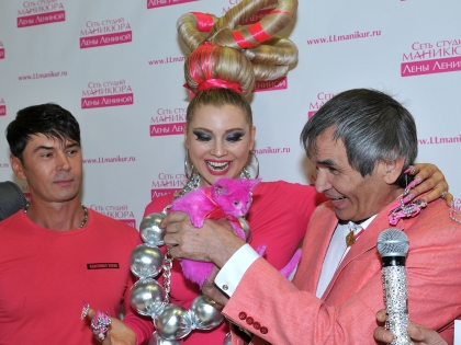 Лена Ленина и Бари Алибасов