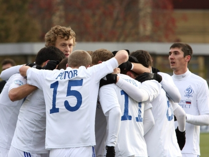 Игроки петербургского «Динамо»