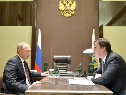 Владимир Путин и Андрей Патрушев