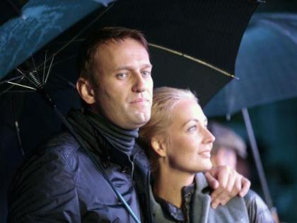Алексей Навальный с женой Юлией