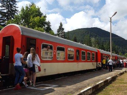 Узкоколейная железная дорога существует уже около 100 лет