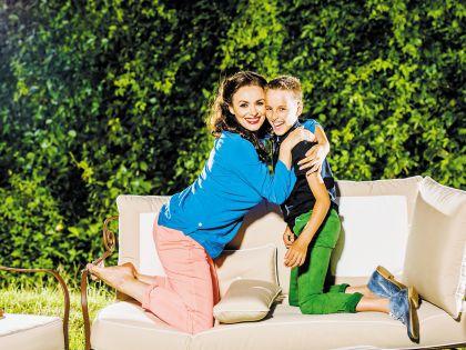Сын Игорь растет счастливым рядом с такой позитивной и мудрой мамой