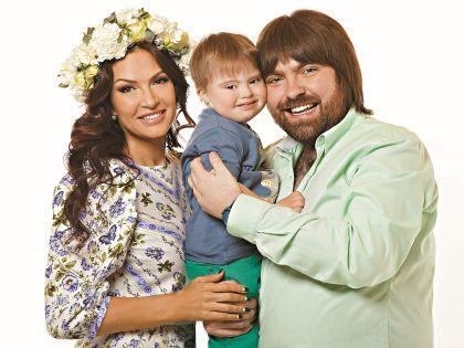 Счастливы вместе: Эвелина, Александр и Сёма