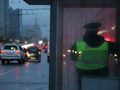24 января московские гаишники старались максимально быстро оформлять ДТП и всесторонне помогать участникам движения