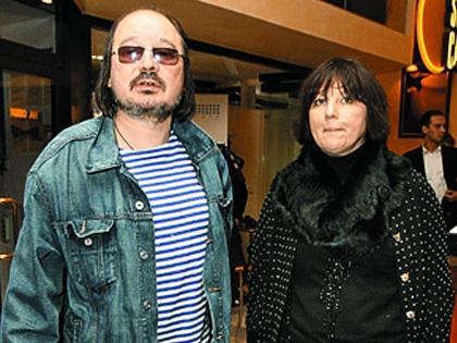 Балабанов с женой Надеждой Васильевой