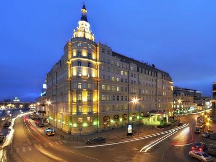 """Гостиница """"Балчуг"""", расположенная на одноименной улице в Москве"""