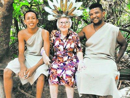В Доминикане баба Лена приобщилась к местной культуре