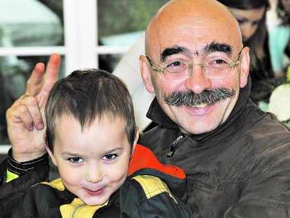 Два Бильжо: внук Егор и дед Андрей