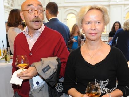 Андрей Бильжо с женой
