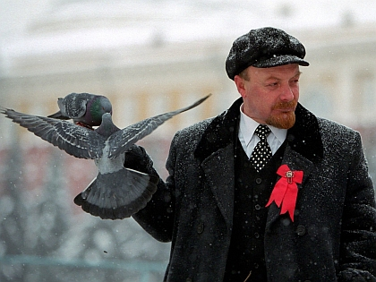 Двойник Владимира Ленина