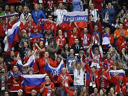 Российские болельщики на ОИ-2014