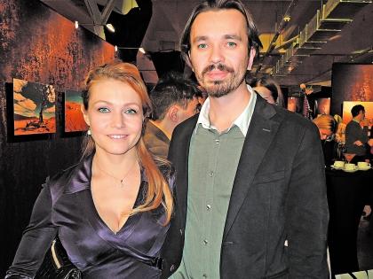 Эльвира Болгова с мужем, режиссером Антоном Ананьиным