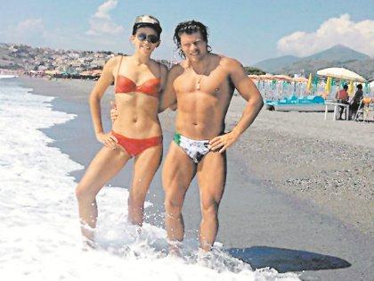 11-ю годовщину брака юмористка отметила в Неаполе
