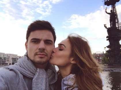 Алена Водонаева и ее жених Антон