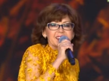Ядвига Поплавская на открытии фестиваля «Славянский базар – 2017» в Витебске