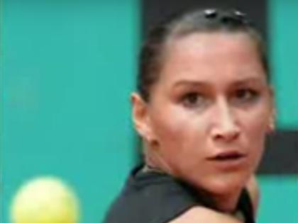 Российская теннисистка Екатерина Бычкова