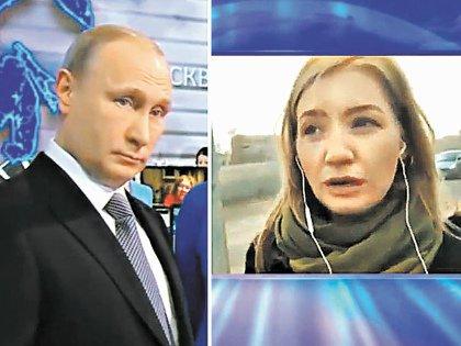 Екатерина Черненко в ходе прошлогодней прямой линии пожаловалась Путину на жуткое состояние дорог и бездействие местных властей