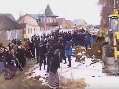 """""""Газовый бунт"""" под Тулой"""