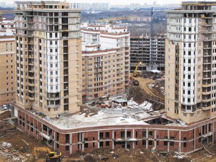 Из 26 корпусов жилого комлекса сданы только два