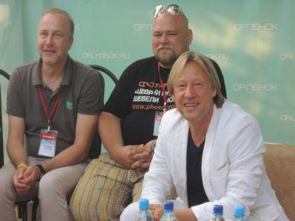 Дмитрий Харатьян на фестивале