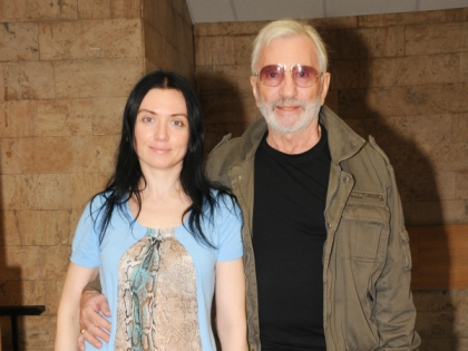 Виктор Мережко с дочерью