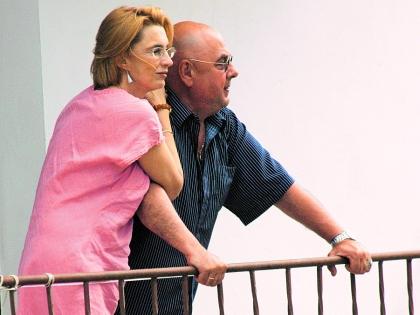 Владимир Долинский с женой