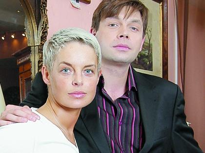 Михаил Дорожкин с актрисой Анастасией Калманович
