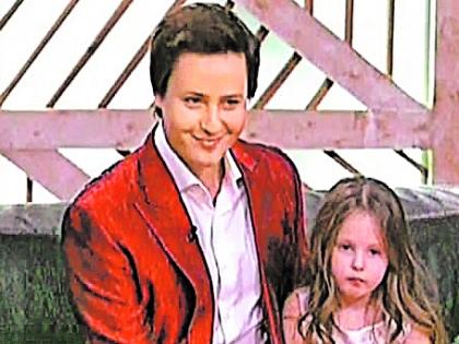 Витас с дочерью