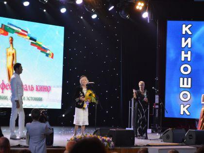 Вручение почетного приза Светлане Немоляевой