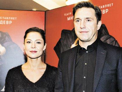 Владимир Вдовиченков с супругой Еленой Лядовой
