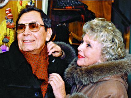 Вера Васильева с мужем Владимиром Ушаковым