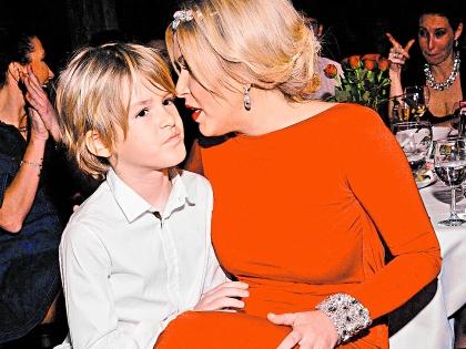 Ирина Дубцова со своим сыном Артемом
