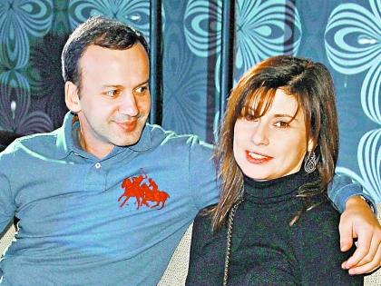 Дворкович с женой