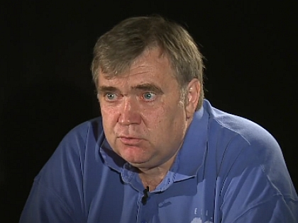 Пресс-атташе РФС Евгений Дзичковский