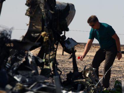 Катастрофа в Египте произошла 31 октября