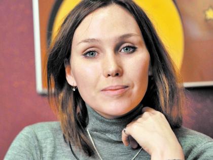 Актриса Дарья Екамасова