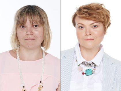 Екатерина до и после преображения