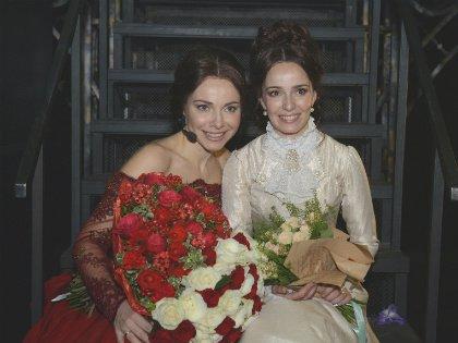 Анну Каренину играли сразу две известные актрисы: Валерия Ланская и Екатерина Гусева