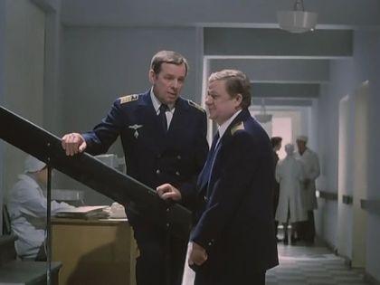 """Кадр из фильма """"Экипаж"""" 1979 г."""
