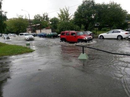 Потоп на Земледельческой улице