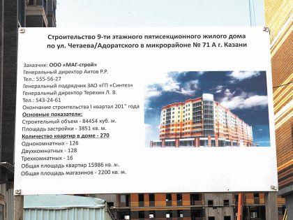 Застройщик продавал квартиры на 18 этажах 9-этажного дома
