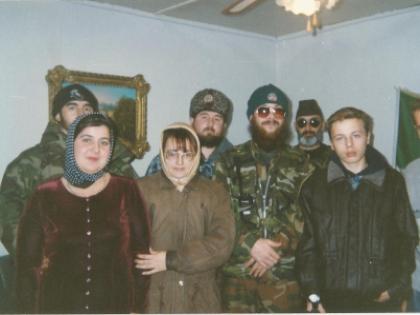 Салман Радуев, Фатима Хадуева, сестра Салмана Радуева, команда Салмана