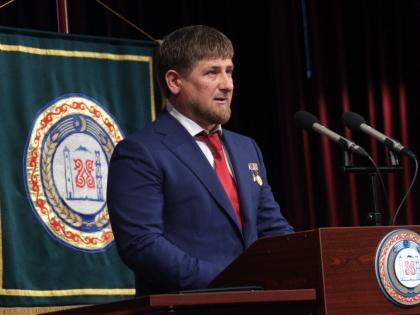 Рамзан Кадыров произнес речь на происламском митинге в Грозном