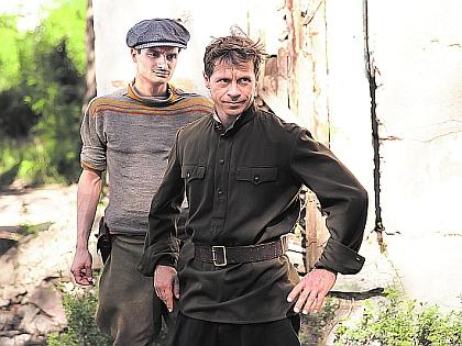 Павел Деревянко и Виктор Степанян