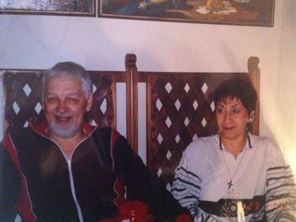 Хмелецкий прожил в браке с племянницей актрисы Тамарой Элиава около 50 лет