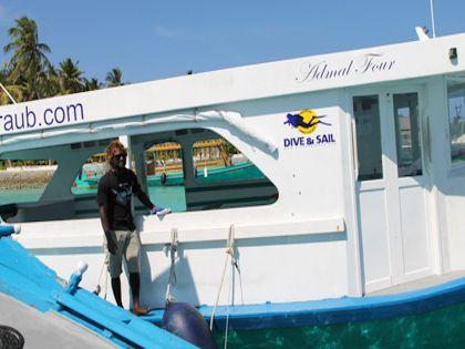 """На катере вас отвезут на ближайший """"живой"""" коралловый риф"""