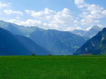 Альпийская горная долина