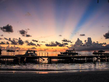 Красоты мальдивских закатов